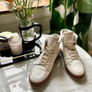 Kris Van Assche White High-top Sneakers